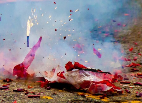 Chinese Fireworks. CC Image courtesy of Victoria Pickering on Flickr