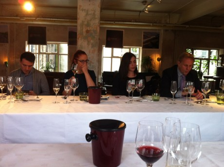 Food and wine matching audience, by Aoife Lawless