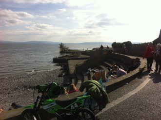 Salthill Promenade, Galway. Photo by Rachael Hussey