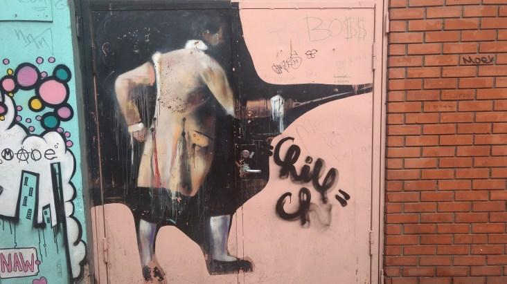 Crampton Court graffiti, image by Hannah Lemass