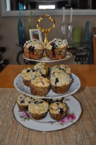 finished muffins