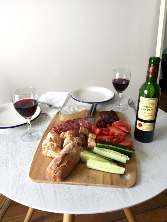 lunch at home