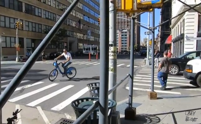 It's not as fast as a fixie but Casey Neistat is gradually won over. (Image: Casey Neistat)