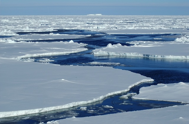 A few degrees of warming is enough to melt a large amount of polar ice and cause substantial sea level rise. [Photo: http://wonderopolis.org]