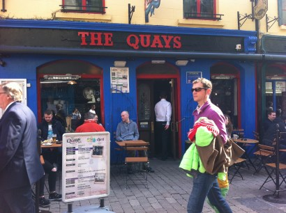 The Quay's, Latin Quarter, Galway. Photo by Rachael Hussey