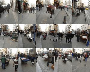 Moda Caddesi Bisiklet Yolu'nda Yürüyüş, Dario Hidalgo, Cumartesi  8 Şubat 2014