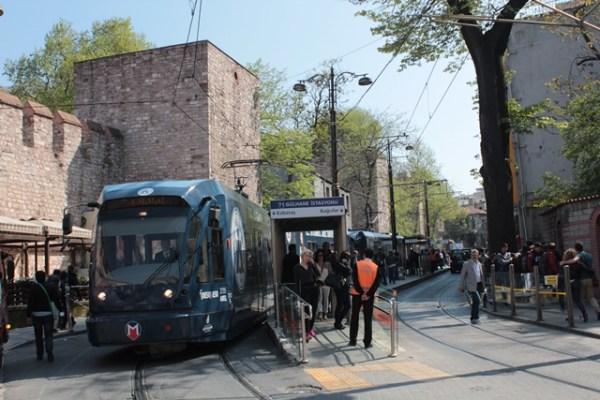 Tarihi Yarımada Gülhane Tramvay İstasyonu