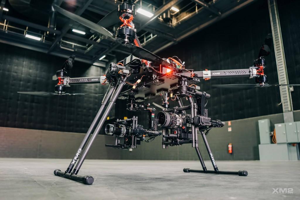 XM2's dual drone