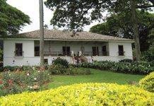 The hacienda of 'La María' in Paraiso, Valle de Cauca.