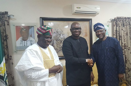 PDP Chairmanship: Fayose Reiterates Call For Single Candidate From Southwest As Jimi Agbaje Pays Courtesy Visits