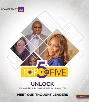 """FCMB Connects Entrepreneurs To Experts With """"Top-5-In-5"""" Initiative"""
