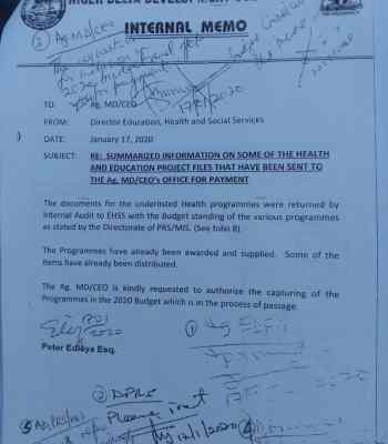 Exclusive: Trouble Looms In NDDC {Documents}