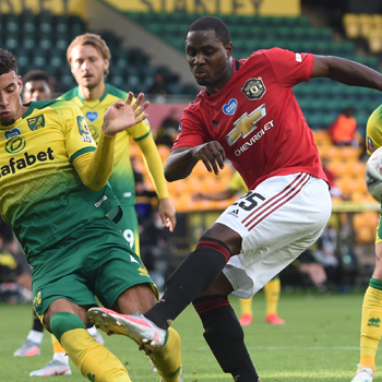 Ighalo Scores As Man Utd Edge 10-Man Norwich To Reach FA Cup Semi-Finals