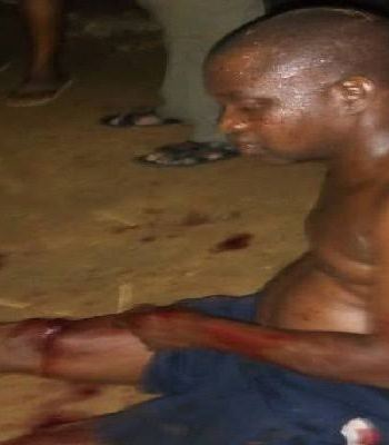 BERSERK POLICE SEARGENT STABBED AN INSPECTOR TO DEATH