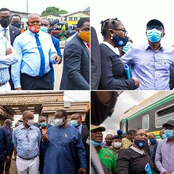 Sanwo-olu, Amaechi Visit Monday Train Accident Scene In Oshodi {Photos+Video} ~Thecitypulsenews