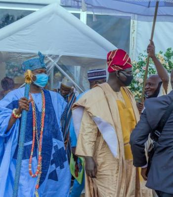 Royal Recognition For Buratai In As He Attends Col Fayemiwo & Wife's Burial