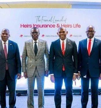 Heirs Sanwo-Olu Calls For Private Sector Investments As Elumelu Unveils New Insurance Companies