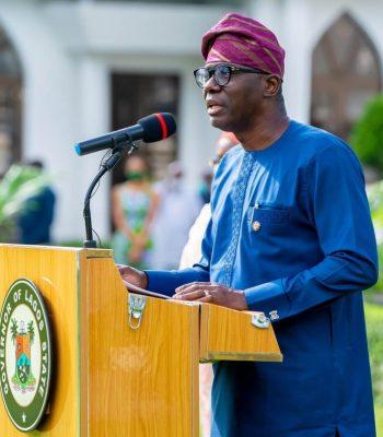 Sanwo-Olu's Acceptance Rating Increases Ahead of 2023 Polls