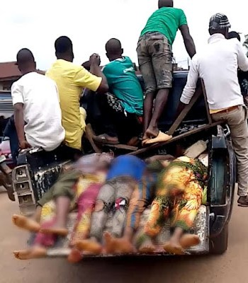 Tension Returns To Modakeke, Ife As Five Persons Brutally Murdered {Photos/Videos}