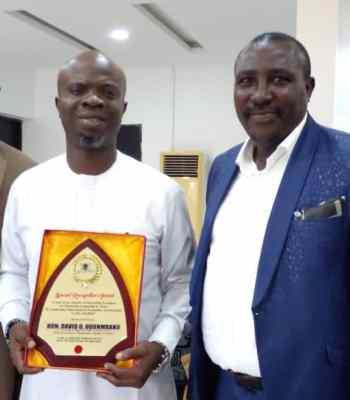 Ojodu LCDA Boss, David Odunmbaku Bags Life Achiever Of The Year Award