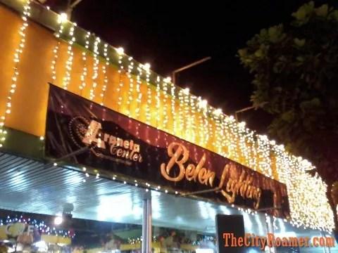 Araneta Center Belen Lighting Ceremony at Farmers Plaza
