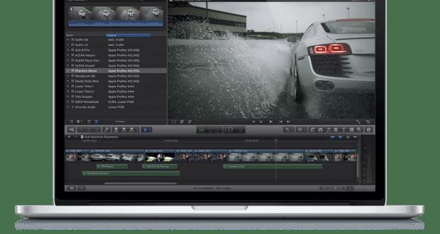 Final Cut Pro Interface - Image courtesy Apple