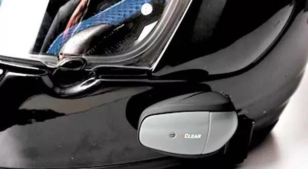 UClear HBC200 Bluetooth on Helmet