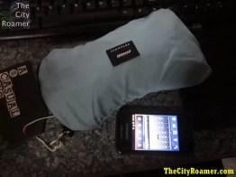 Crumpler - The Squid Bag beside a phone