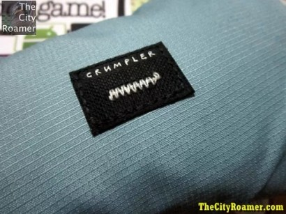Crumpler logo on The Squid Bag