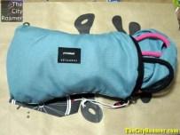 Crumpler - The Squid Bag unzipped