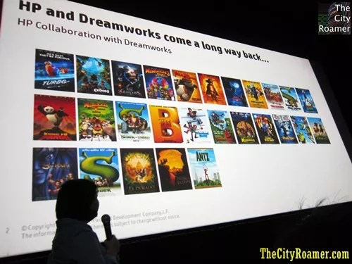 HP and DreamWorks Collaboration