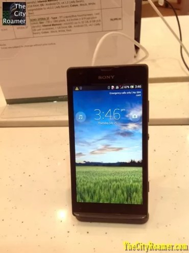 Sony Smartphones at Pismo Digital Lifestyle