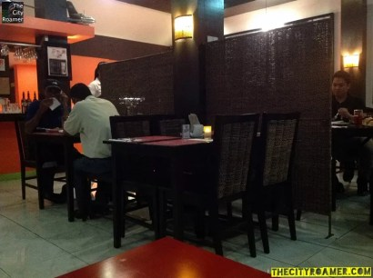 Privacy and Intimate Dining at Ginger's Cafe Bistro
