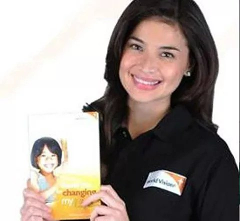 Anne Curtis for World Vision Celebrities for Children