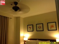 Ceiling Fan in one of the rooms at Azalea Residences Baguio