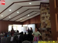 An ongoing event at Azalea Residences Baguio Function Room