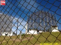 The Radar up close at Mount Cabuyao in Benguet
