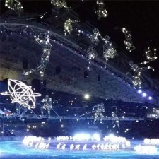 Constellations of Sports - Opening Ceremony of the Sochi 2014 Winter Olympics