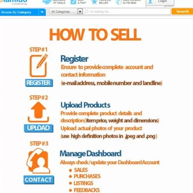 Lamido - How To Sell