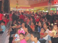 The Audience at SM City Fairview Christmas Launch