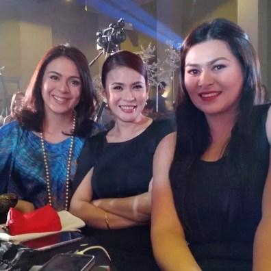 Dawn Zulueta, Gelli de Belen and Aiko Melendez at the Backroom 25 on 25 event