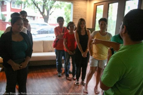 Parlor Games at the Filipino Bloggers Network Christmas Party