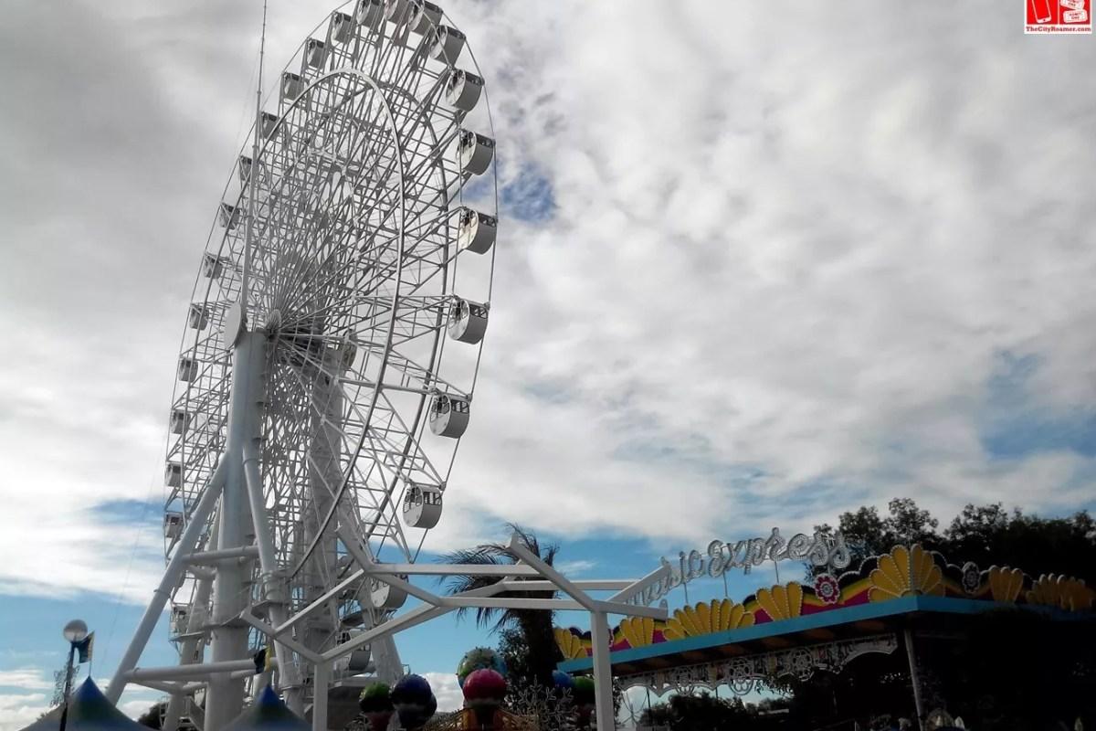 Sky Ranch Pampanga Ferris Wheel
