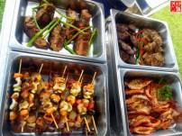 Grilled dishes at Aquaria Beach Resort