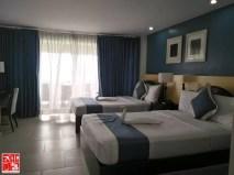 A huge room at Estancia Resort Hotel Tagaytay