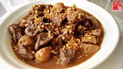 Beef Tenderloin and Mushroom Salpicao