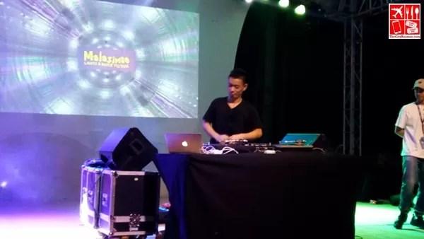 DJ Kentaro at the Malasimbo Lights and Dance Festival 2016