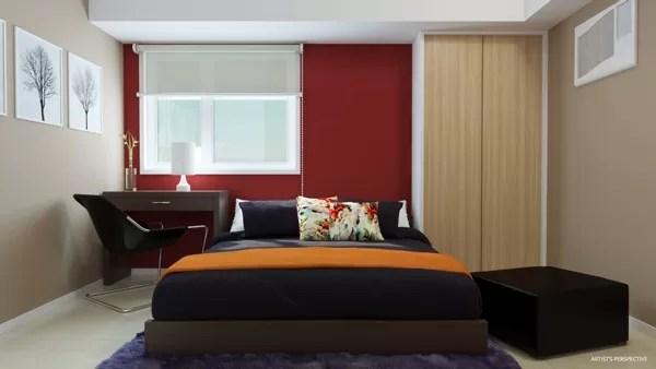 Avida Towers Turf BGC 3BR Masters Bedroom