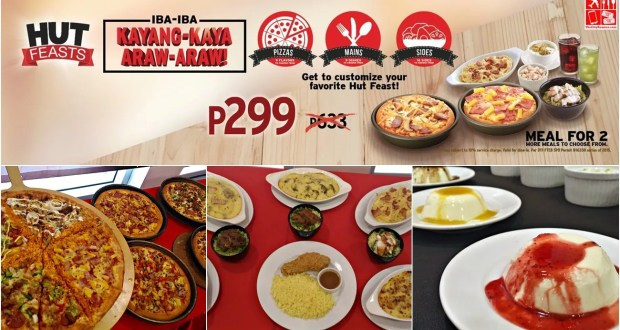 Create Your Own Feast with Hut Feasts from Pizza Hut