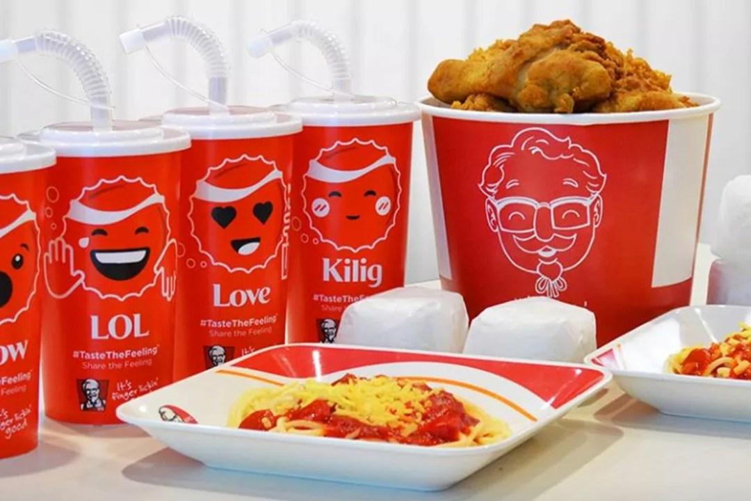 KFC EmotiCups Bucket Meal